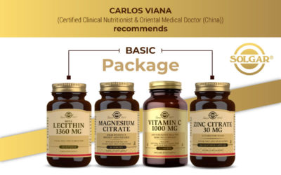 Get to Know Viana's Basic/Basic Nutrients for Life: Vitamin C, Magnesium, Zinc, Lecithin