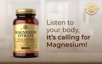 Listen to your body, It's calling for Magnesium!