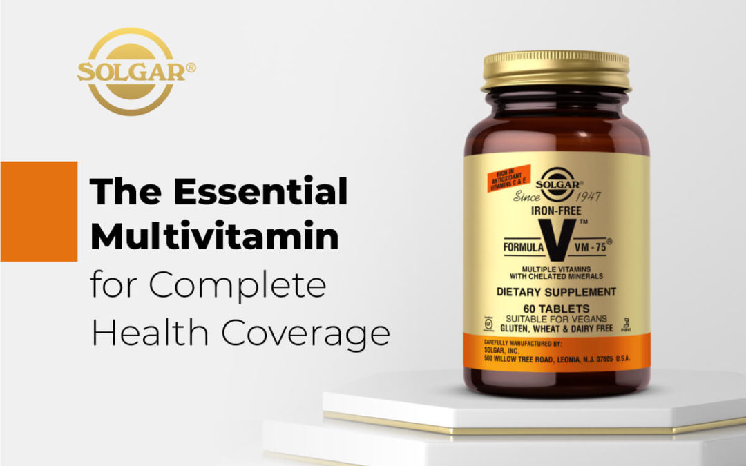 Complete Health Coverage with Solgar Iron-Free Formula VM-75